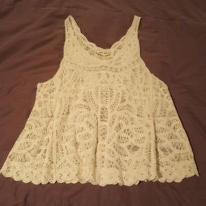 Nabee lace tank top